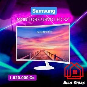 Monitor curvo led Samsung 32 pulgadas