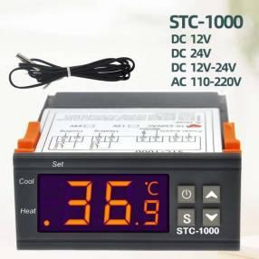 Termostato digital con sonda STC-1000 para incubadora