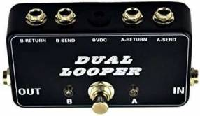 Pedal Switch Looper para guitarra eléctrica