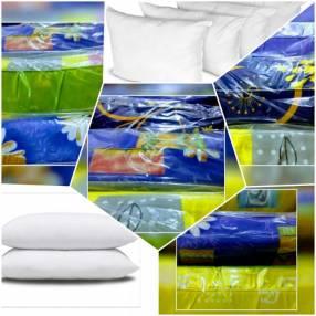 Almohada estampada de espuma triturada