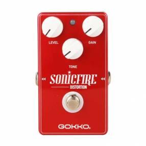 Pedal de distorsión para guitarra eléctrica Gokko Sonicfire