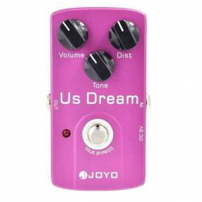 Pedal de distorsión para guitarra eléctrica Joyo Us Dream