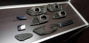 Rejillas de busca huellas para Mercedes Benz