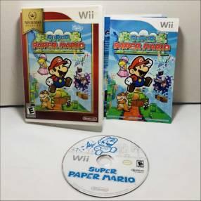 Juegos para Nintendo Wii Super Paper Mario y Fifa15