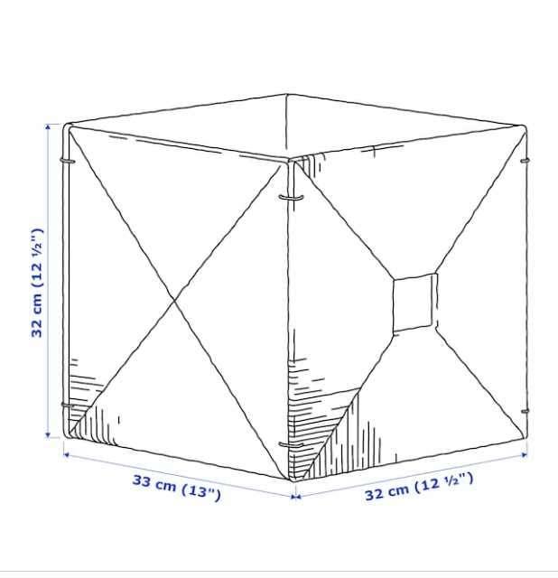 Caja decorativa 32x33x32 cm - 2