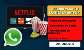 Cuentas Netflix
