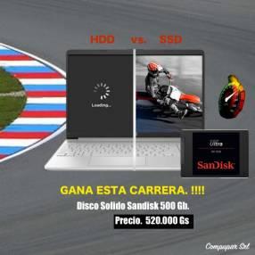 Disco Duro Solido 500 GB SanDisk