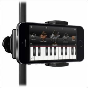Soporte de celular para pedestal de micrófono