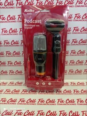 Micrófono con trípode Kolke condensador kpi-271
