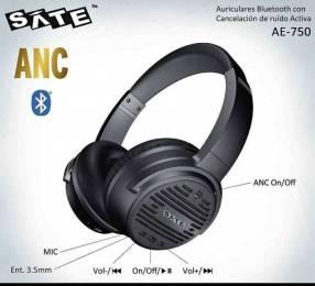 Auricular bluetooth con cancelación de ruido SATE