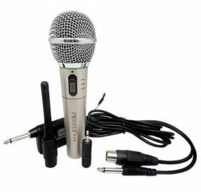 Micrófono inalámbrico y con cable Prosper