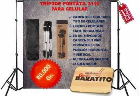 Trípode portátil 3110 para celular
