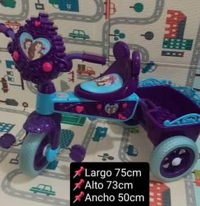 Triciclo Princesa Musical