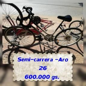 Bicicleta semi carrera aro 26