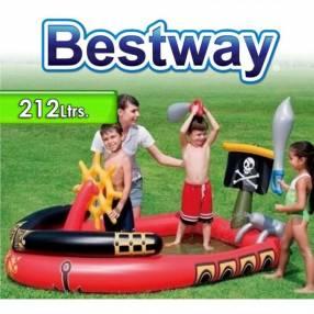 Piscina Infantil 212 lts 1,91 x 1,40 x H. 0,97 mts Bestway