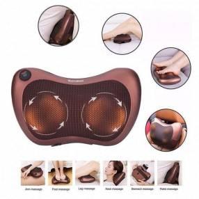 Cojín masajeador multifuncional con luz infrarrojo