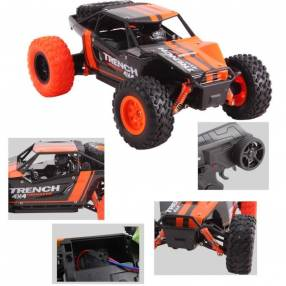Trench Rally Monster 4x4 con control