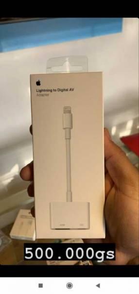 Apple adaptador lightning digital av