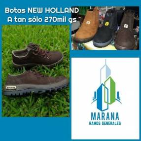 Botas New Holland