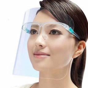 Protectores transparente para rostro