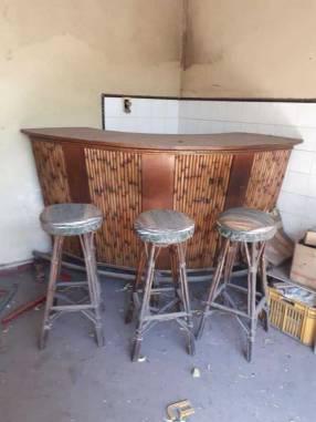Juego de bar de takuara