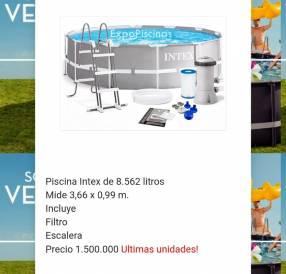 Piscinas Intex de 8.592 litros