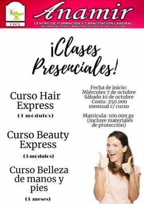 Cursos presenciales de peluquería