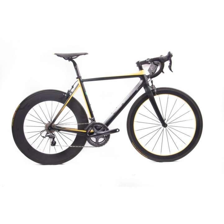 Bicicleta Lamborghini aro 700 carbono - 0