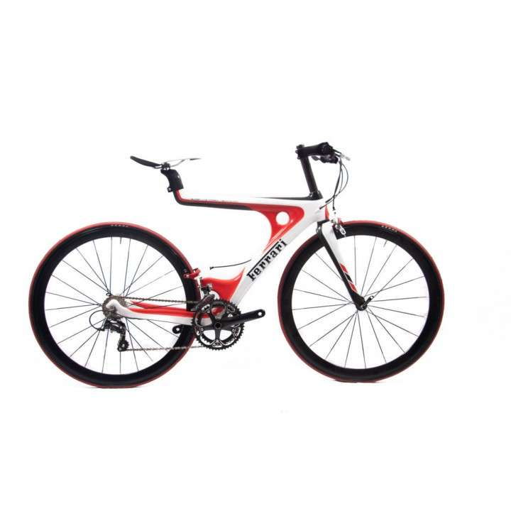 Bicicleta Ferrari aro 700 carbono - 0