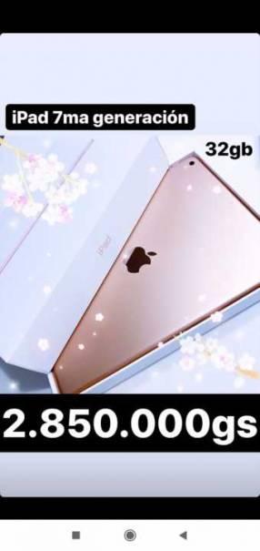 Apple ipad 7ma generacion 32gb