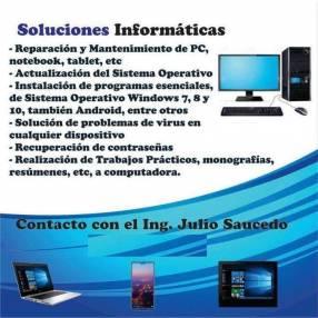 Soluciones Informáticas en Caacupé y alrededores