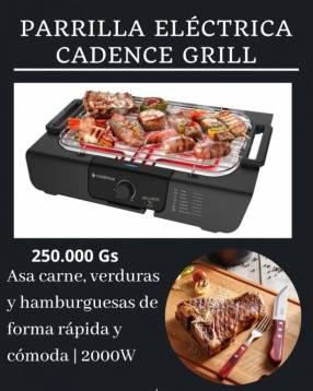 Parrilla eléctrica cadence grill 2.000W