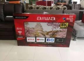 Smart TV Aiwa 4K de 55 pulgadas