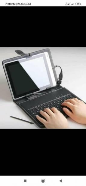 Estuche con teclado para tablet
