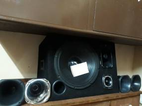 Caja acustica Bafle