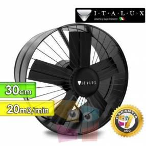 Extractor y ventilador de aire 30 cm Italux
