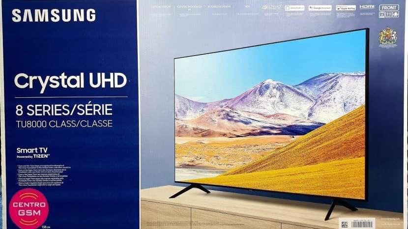 Smart tv Samsung 65 pulgadas 4k nuevas - 0