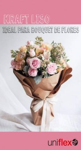 Papel kraft para flores