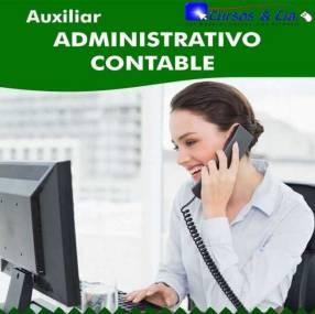 Curso de auxiliar contable administrativo virtual