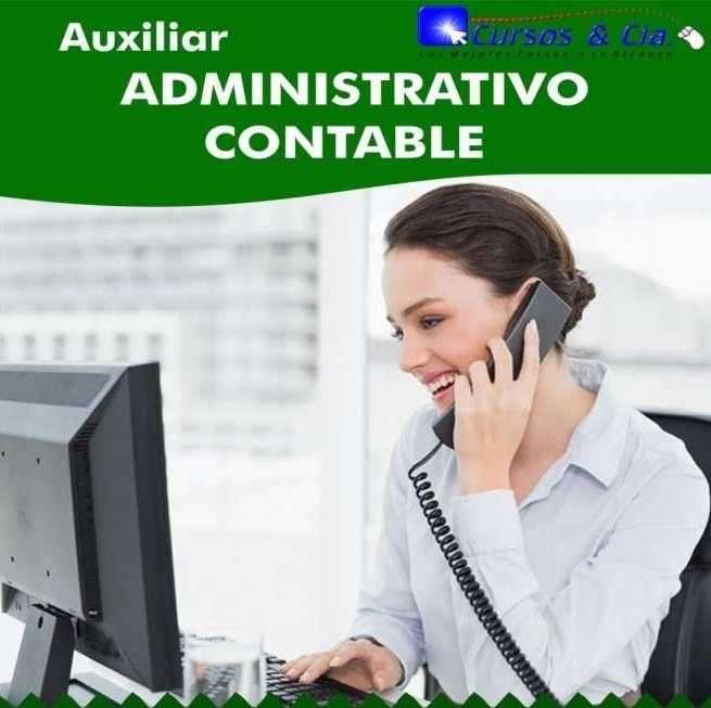 Curso de auxiliar contable administrativo virtual - 0