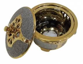 Bombonera de porcelana con tapa 1DY120
