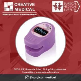 Oximetro de pulso de dedo PC-60D2