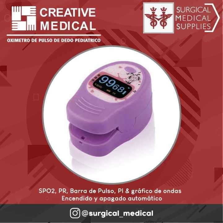 Oxímetro de pulso de dedo PC-60D2 - 0