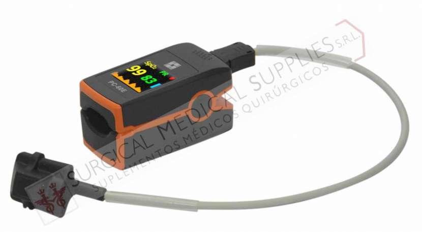 Oxímetro de pulso de dedo con sensor SpO2 pediátrico Ref. PC-60E - 1