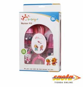 Kit de lactancia Sun Delight Mamaderas para bebés