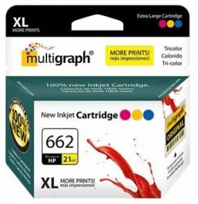 Cartucho HP 662 XL color Multigraph