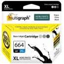 Cartucho HP 664 XL negro Multigraph - 0