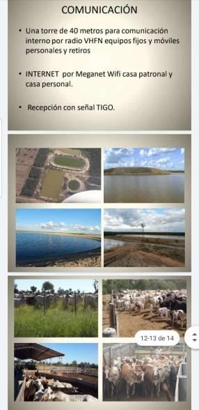 Estancia modelo 31.600 hectáreas en el Chaco