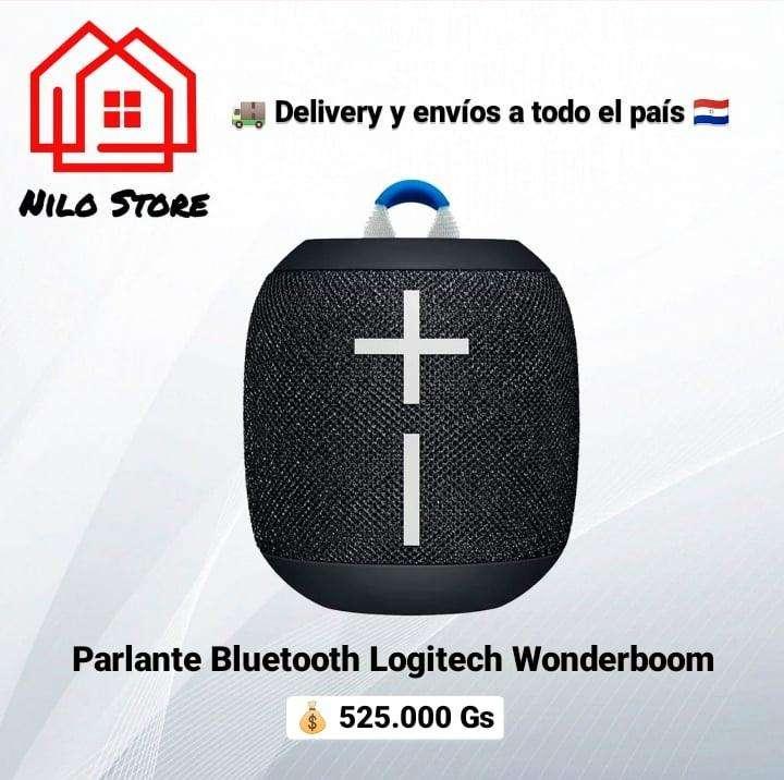 Parlante logitech wonderboom bluetooth - 0