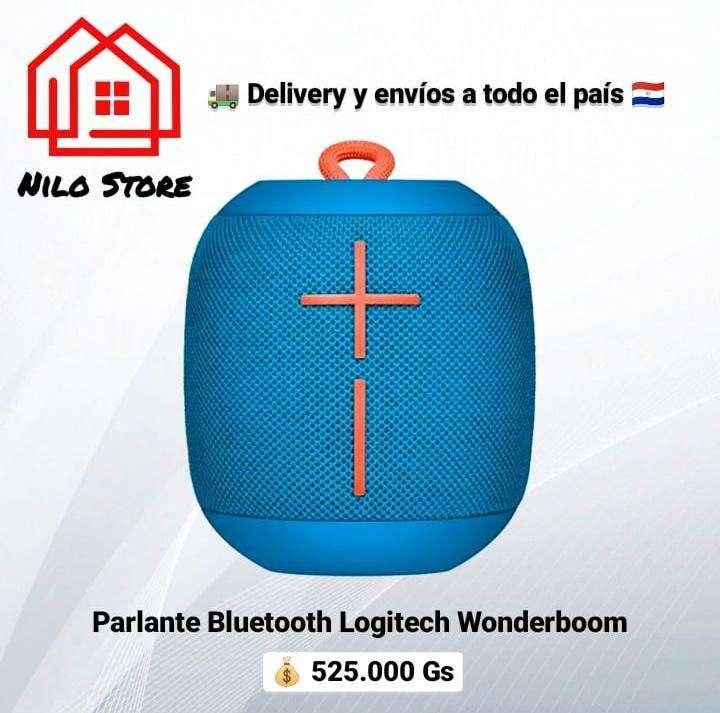 Parlante logitech wonderboom bluetooth - 1